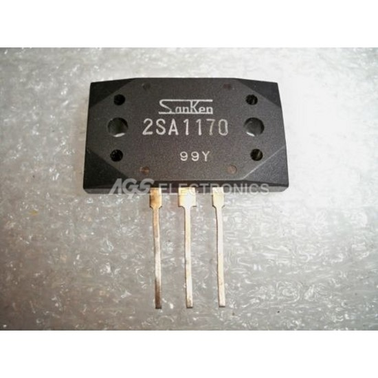 2SA1170 - 2SA 1170 - A1170 Transistor  200V 17A 200W LINEAR POWER