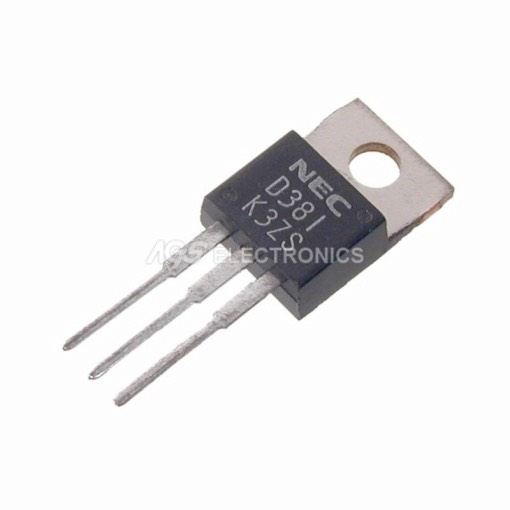 2SD381 - 2SD 381 - D381 TRANSISTOR SI-N 130V 1.5A 20W 60MHz