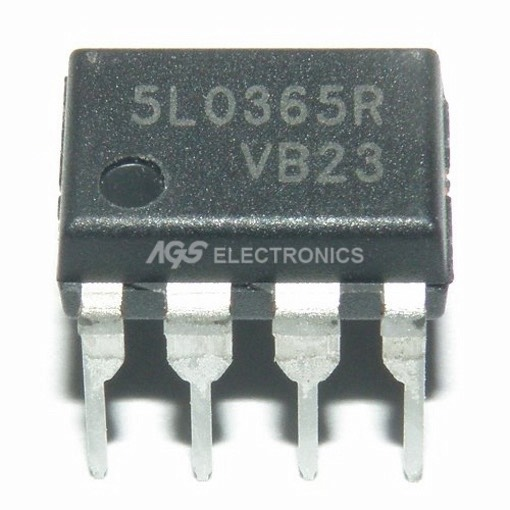 5L0365RN - 5L0365RN - KA5L0365RN Circuito Integrato 3A 650V 50KHz Power Switch