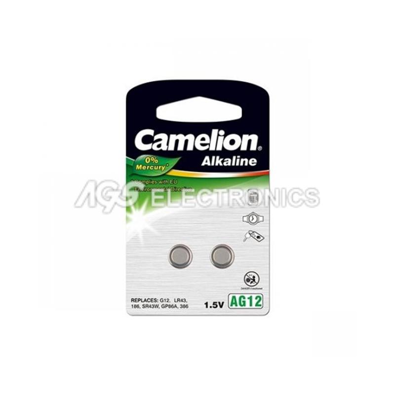 Batteria Bottone Alkalina 1.5v 108mA Blister 2 pezzi - 0% mercurio