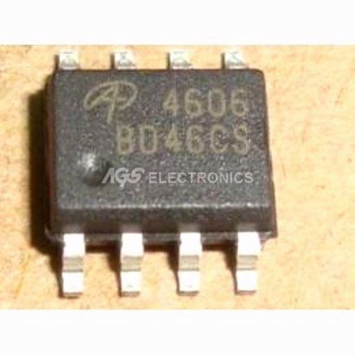 AO4606 - AO 4606 CHANNEL MODE FIELD EFFECT TRANSISTOR