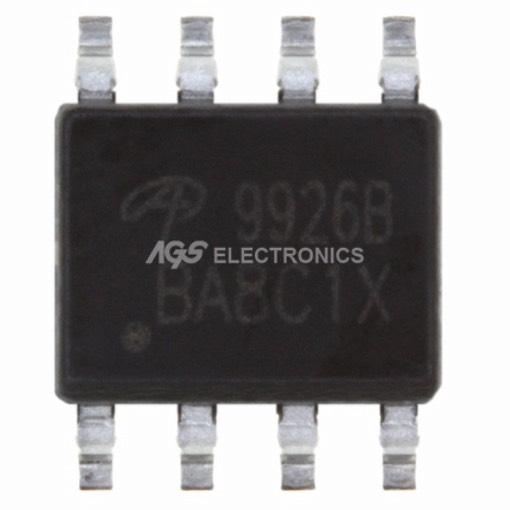 AO 9926B MOSFET 2N-CH 20V 7.6A 8-SOIC AO9926B