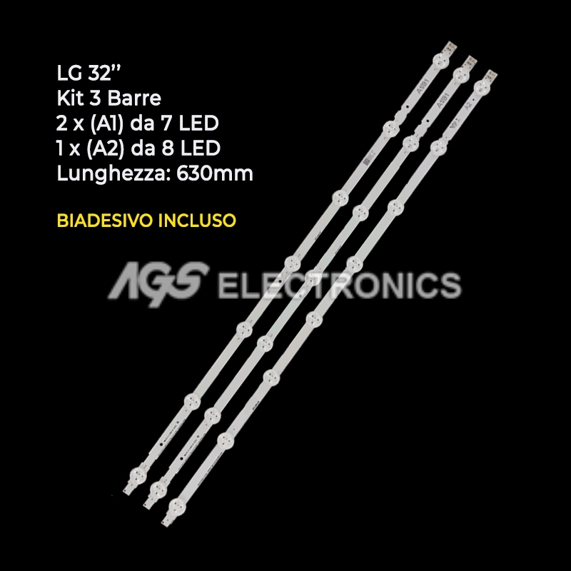 BARRE STRIP LED AGF78399301 AGF78399201 LC320DXE-SFR1 LC320DXE-SGR1 LG 32LN5700