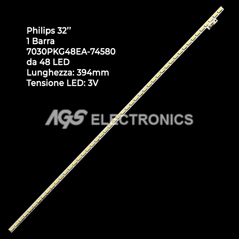 BARRA 48 LED STRIP LED TV PHILIPS 7030PKG48EA_74580
