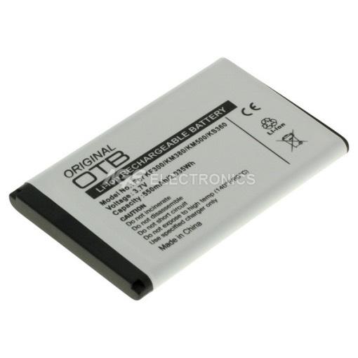 BATTERIA COMPATIBILE PER LG KM380 KS360 BAT-LG-KS360