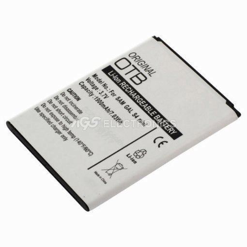 Batteria interna Li-ion 1900mAh Compatibile per Samsung S4 Mini = EB-B500-BULK