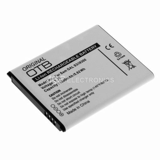 Batteria compatibile per SAMSUNG GALAXY S3 1700mAh = EB-L1G6-BULK BAT-SAM-I9300