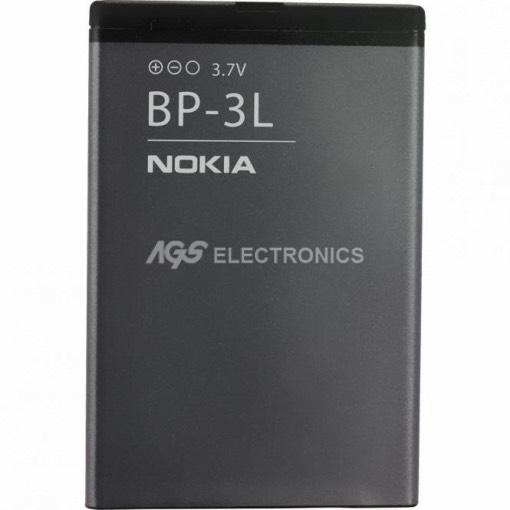 BATTERIA ORIGINALE NOKIA BP-3L BP3L PER LUMIA 710 610 510 1050MAH