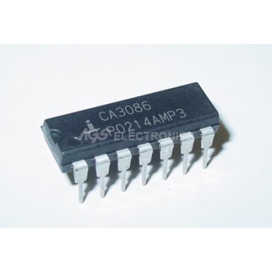 CA3086 - CA 3086 NPN transistor Arrays