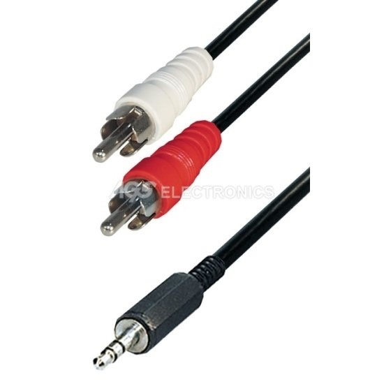 Cavo 2 plug RCA - CABLE-458 - CABLE458