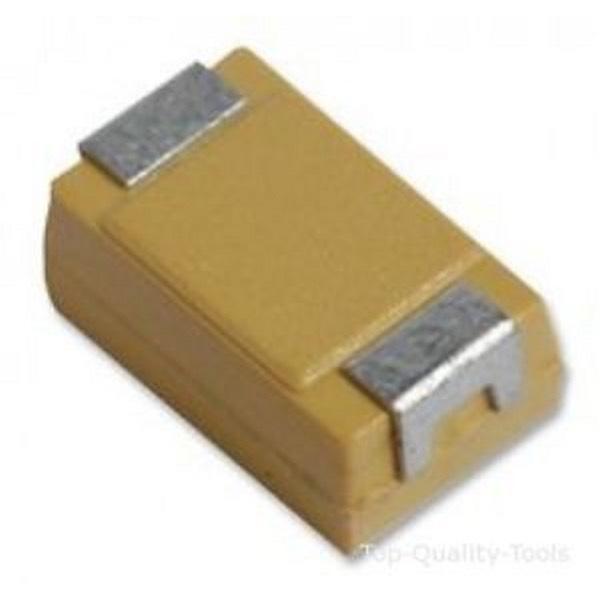 5 x CONDENSATORE TANTALLIO SMD 10UF 16V tipo contenitore B TAG 10UF 16V-B (3 pez