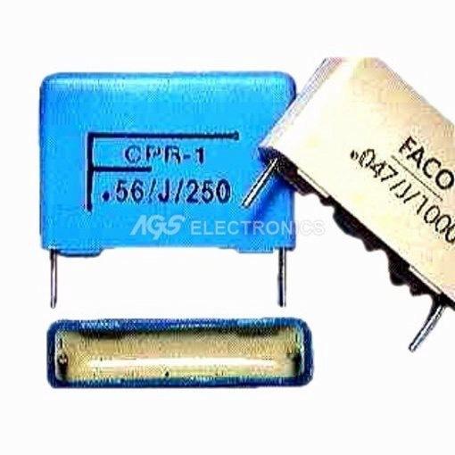 Condensatore Poliestere passo 22mm CMR22 1UF 400V