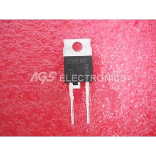 D06E60-TO220 - diodo
