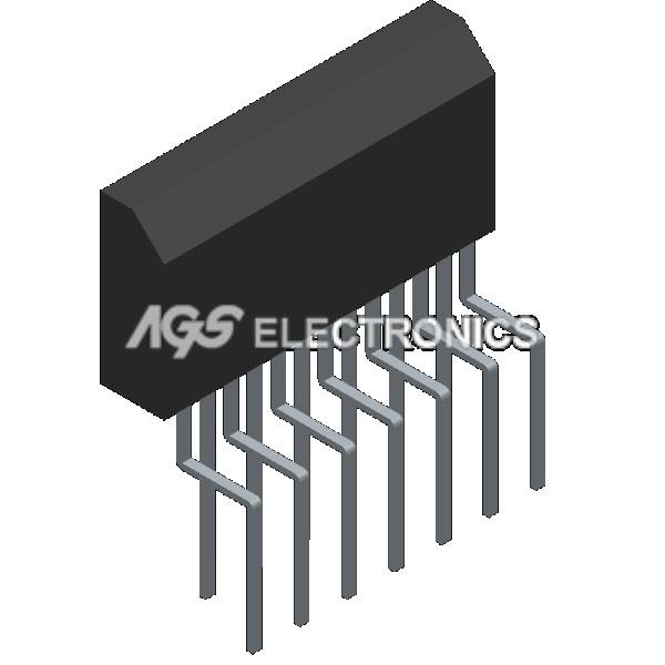 TDA8350Q - TDA 8350Q Circuito Integrato DC-COUPLED VERT.DEFLEC.