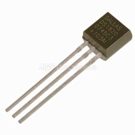 DS18B20 - DS 18B20 Transistor
