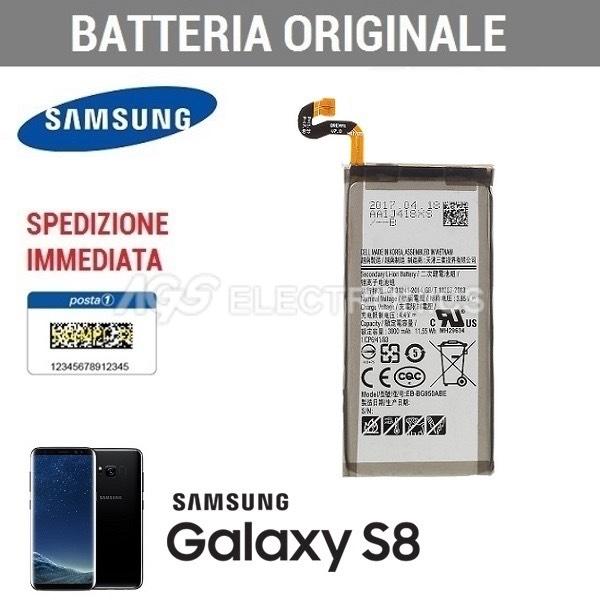 NUOVA BATTERIA ORIGINALE SAMSUNG EB-BG950ABE PER GALAXY S8 3000mAh