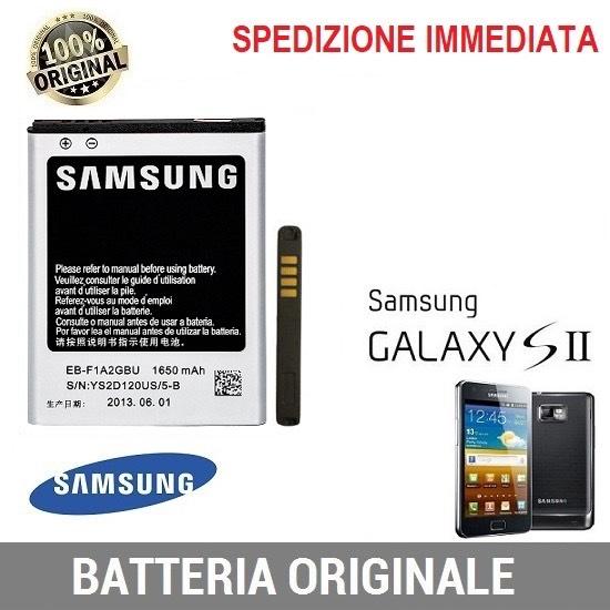 Batteria originale Samsung EB-F1A2GBU per I9100 Galaxy S2 S II I9105 Plus