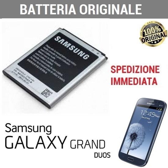 BATTERIA ORIGINALE EB535163LU SAMSUNG PER GALAXY GRAND DUOS GT-I9080 GT-I9082