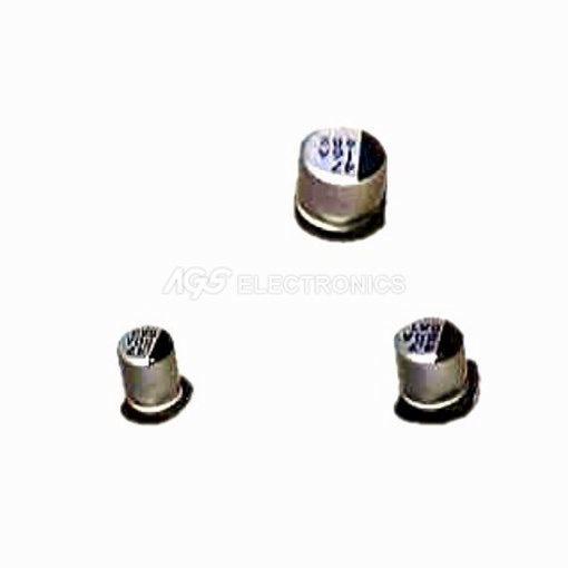 2 x 1UF 50V CONDENSATORE ELETTROLITICO SMD 3X5,4MM (2 pezzi)