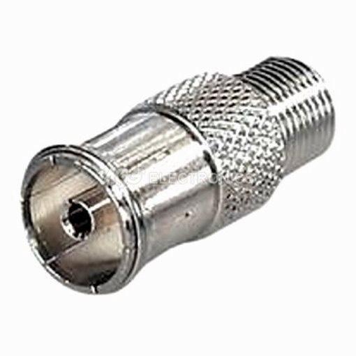 3 x Adattatore presa IEC 9.5mm connettore F  FC005 , FC-005 (3 pezzi)