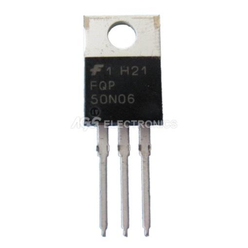 FQP50N06 - FQP 50N06 Transistor N-MOS MOSFET