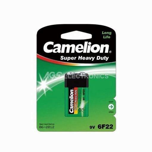 Batteria 9V Zinco Carbone blister 1 batteria 6F22 G-R22