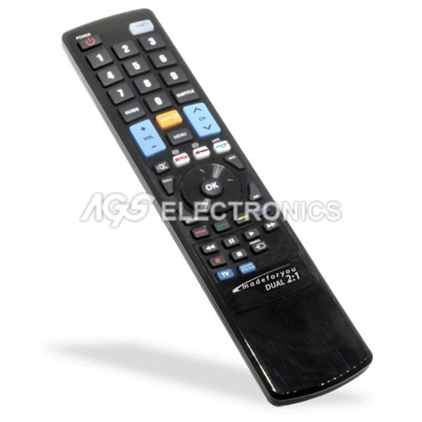 Telecomando TV programmabile con programmatore infrarosso GBS 2:1  GBS-MFY-2