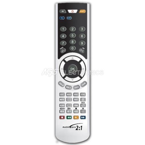 Telecomando TV programmabile con programmatore infrarosso GBS 2:1  GBS-MFY-2E