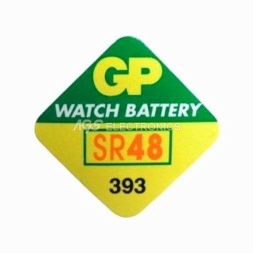 Batteria pila orologi SR48 , V393 , D393 , GP393 - GP-393