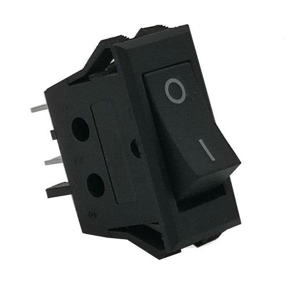 Interruttore unipolare nero 16A/250V INT-096