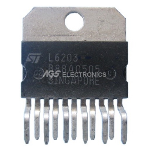 L6203 - L 6203 Circuito Integrato DUAL POWER DRIVER
