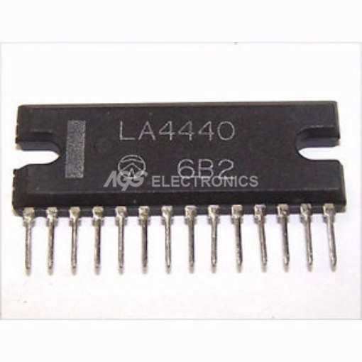 LA4440 - LA 4440 Circuito Integrato 6.0W 2-CH.POWER AMPL