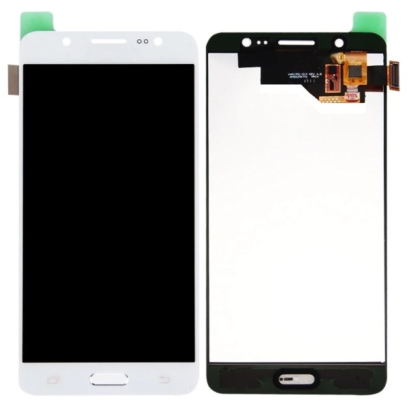 DISPLAY LCD VETRO TOUCH SCREEN per SAMSUNG GALAXY J5 2016 J510F SCHERMO BIANCO