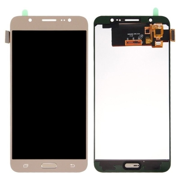 DISPLAY LCD  TOUCH SCREEN SAMSUNG GALAXY J7 2016 J710 SM-J710FN SCHERMO GOLD ORO