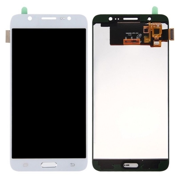 DISPLAY LCD  TOUCH SCREEN SAMSUNG GALAXY J7 2016 J710 SM-J710FN SCHERMO BIANCO