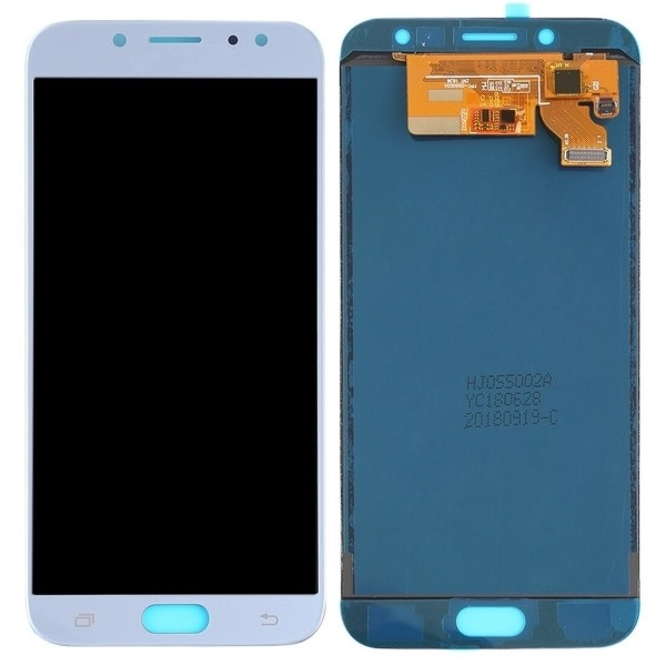 DISPLAY LCD TOUCH SCREEN per SAMSUNG GALAXY J7 2017 J730 SMJ730F BLUE VETRO