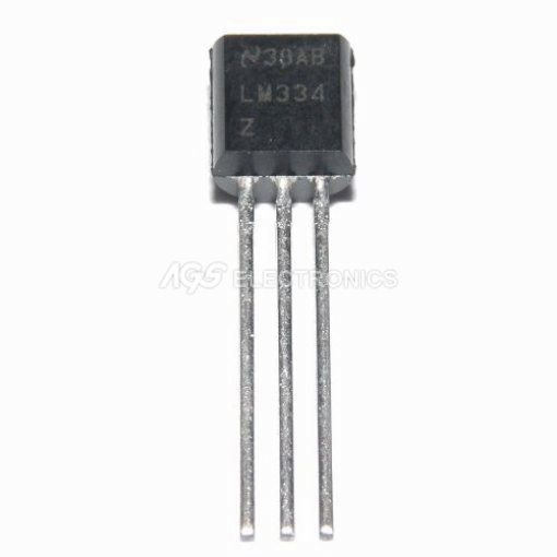 LM334Z - LM 334Z Circuito Integrato ADJUST.CURR.SOURCE to92