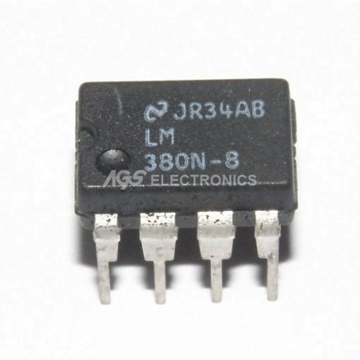 LM380N8 - LM 380N8 CIRCUITO INTEGRATO 2W AUDIO POWER AMPL. 8p
