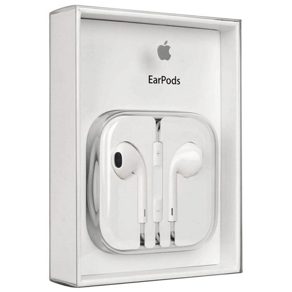 CUFFIE AURICOLARI APPLE EARPODS MD827ZM/B IPHONE 5S SE 6 6S BLISTER ORIGINALI
