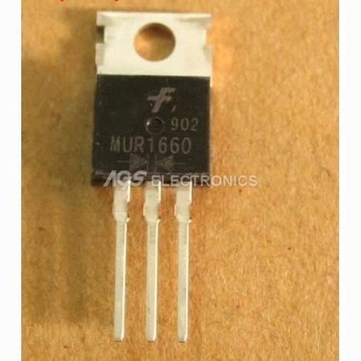 MUR1660 - MUR 1660 - MUR 1660CT DIODO Ultra-Fast Recover Rectifier 16A 600V