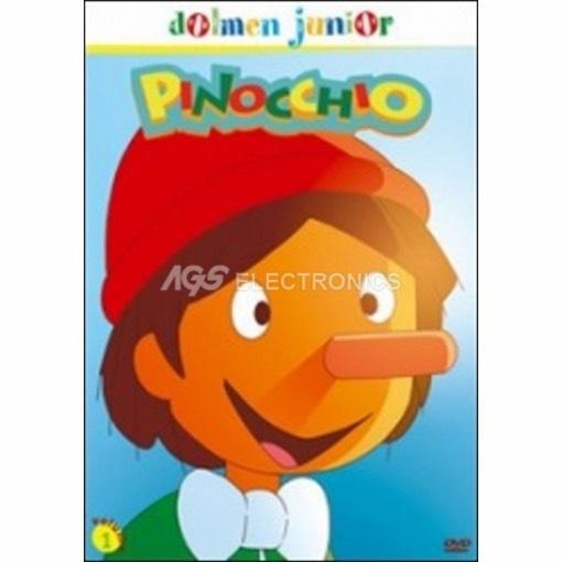 Pinocchio Vol. 1 - DVD NUOVO SIGILLATO - MVDVD-AN185 - MVDVDAN185