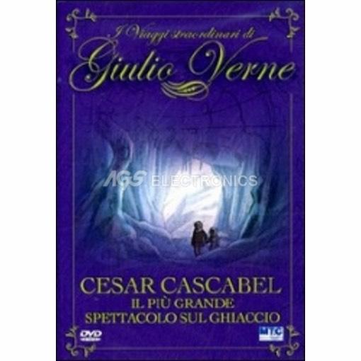Giulio Verne - Cesar Cascabel - il piu' grande spettacolo sul ghiaccio - DVD NUOVO SIGILLATO - MVDVD-AN595 - MVDVDAN595
