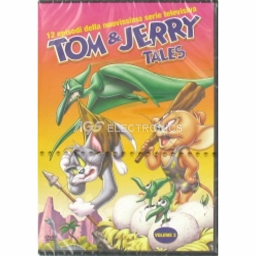 Tom & Jerry - tales vol 2 - DVD NUOVO SIGILLATO - MVDVD-AN682 - MVDVDAN682