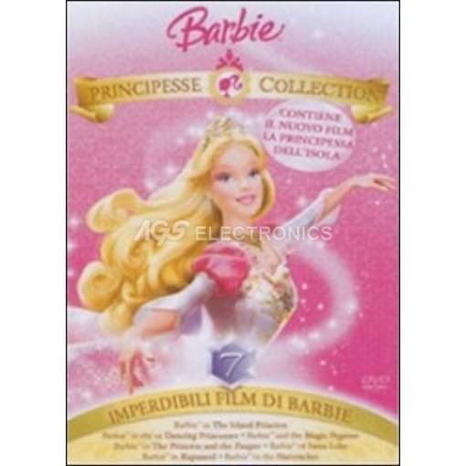 Barbie principesse collection (7 dvd) - DVD NUOVO SIGILLATO - MVDVD-AN702 - MVDVDAN702