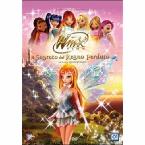 Winx Club -  il segreto del regno perduto (2 dvd) - DVD NUOVO SIGILLATO - MVDVD-AN842 - MVDVDAN842