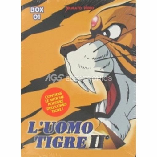 Uomo tigre II (l') - box 1 (5 dvd+gadget) - DVD NUOVO SIGILLATO - MVDVD-AN866 - MVDVDAN866