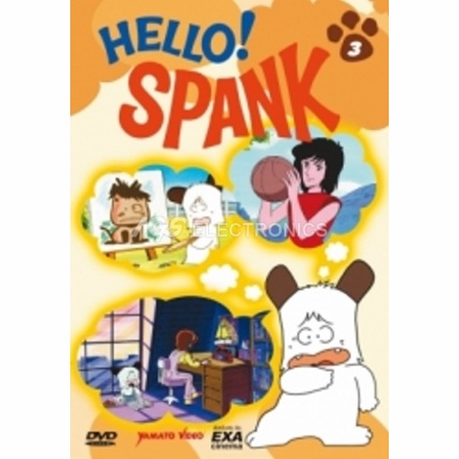 Hello! Spank - Vol 3 - DVD NUOVO SIGILLATO - MVDVD-AN876 - MVDVDAN876