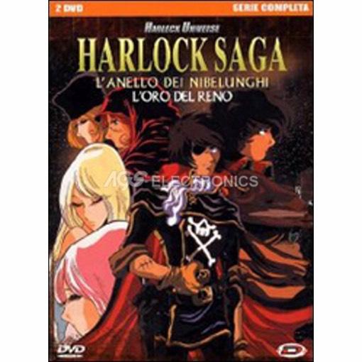 Harlock saga - saga completa box set (2 dvd) - DVD NUOVO SIGILLATO - MVDVD-AN897 - MVDVDAN897