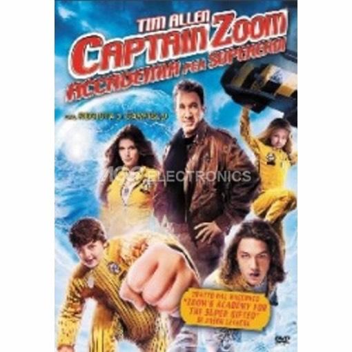 Captain Zoom - accademia dei supereroi - DVD NUOVO SIGILLATO - MVDVD-AV098 - MVDVDAV098