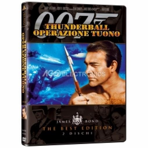 007 - thunderball - operazione tuono (best edition) (2 dvd) - MVDVD-AZ210 - MVDVDAZ210